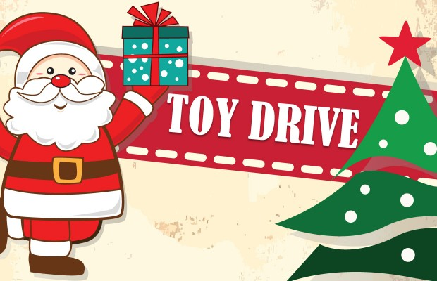 Toy Drive Logo : Sixth annual christmas toy drive starting now through